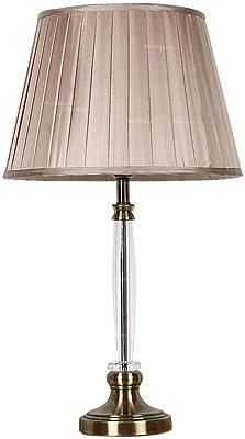 JFHGNJ lampada da tavolo Lampada da tavolo moderna in cristallo Camera da letto da comodino Camera da letto matrimoniale Lampada da tavolo per illuminazione di personalità creativa