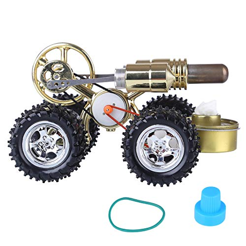 Hot Air Stirling Engine Car Engine Model Science Experiment Educational Toy
