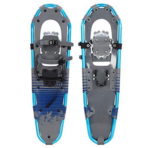 Jeanoko Marco de Aluminio de liberación rápida Garra de Aluminio para Caminar Raquetas de Nieve para Caminar de Aluminio Raquetas de Nieve Flexibles para Caminar Larga Vida útil para senderos y