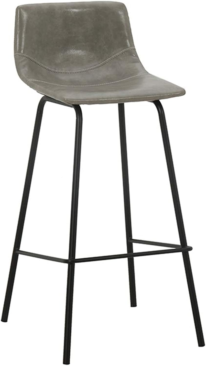 Barstools DOOST bar stools, Steel Legs, Leather Seats, Counter Height bar Chairs, Bars, counters, cafes, Kitchens, Home Seats