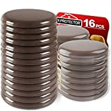 Furniture Sliders for Carpet X-PROTECTOR – Best 16-Pack 3 1/2 inch Heavy Moving Pads - Sliders for Furniture. Move Your Furniture Easy with Reusable Furniture Movers Sliders for Carpets!