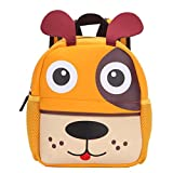 XINANTIME_Bolso Escuela Bolso Escolar Dibujos Animados Infantil Viaje Mochila para Guardería Primaria Niño Niña (21cm (L) * 26 (H) * 8cm (W), Perrito)