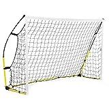 Red de fútbol portátil de portería de fútbol de fútbol de tamaño completo portería de fútbol de la red de portería de fútbol de la jaula de jaulas y mini porterías (2,4 x 1,5 m)