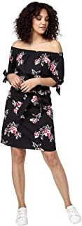 LE CHÂTEAU Floral Off-The-Shoulder Dress for Women