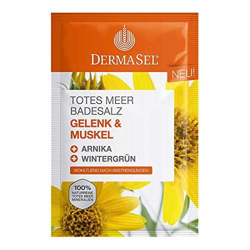 DERMASEL Totes Meer Badesalz Gelenk & Muskel 80 g