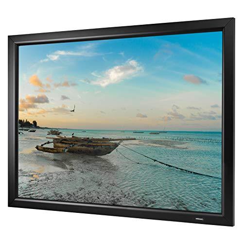 celexon Heimkino- und Präsentations-Rahmen-Leinwand mit Stecksystem und optimaler Planlage Home-Cinema Frame - 300x169 cm - 16:9 - Gain 1,2