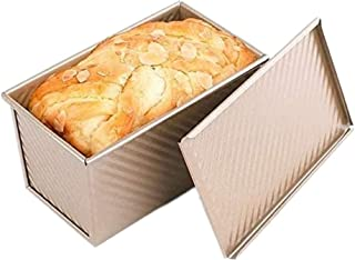 Baking Toast Pan, Loaf Pan Bread Baking Mold Kitchen Baking Mold Toast Box with Lid for Home Kitchen Baking