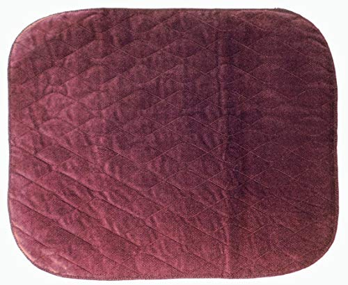 ComfortCare Incontinence Protection Chair Pad 1 Litre – Burgundy