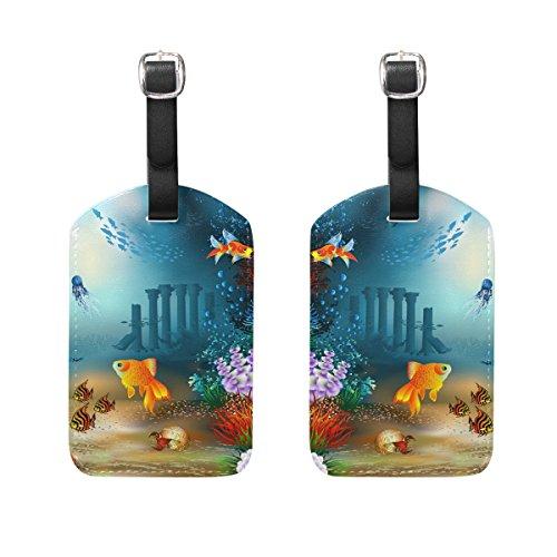 XiangHeFu, Etichetta per valigie Image 145 4.9 x 2.8 inch