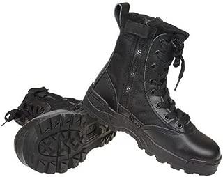 S.W.A.T ミリタリーブーツ サイド ジッパー タクティカル コンバット パフォーマンス サバゲー 靴
