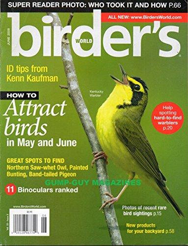 Birder's World Magazine June 2009