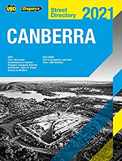 Canberra Capital Country & Snowy Mountains Street Directory 2021 25th ed