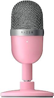 Razer Seiren Mini - Micrófono Condensador USB para Streaming (Compacto con supercardioide Polar, Soporte inclinable, Amort...