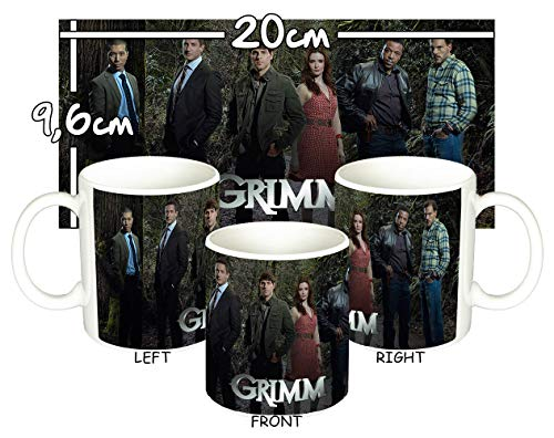 Grimm David Giuntoli Silas Weir Mitchell Cast Tasse Mug