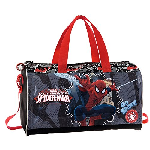 Marvel Borsa da Viaggio Spiderman, Multicolore, 21.17 Litri, 42 cm