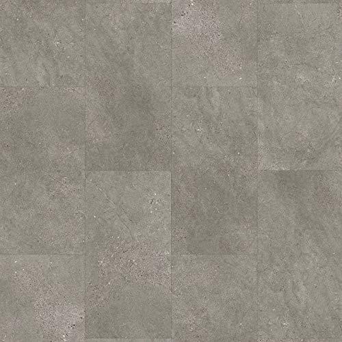 Klick-Vinyl Steinoptik grau | Vinylboden in Fliesenoptik grau Senso 20 Lock