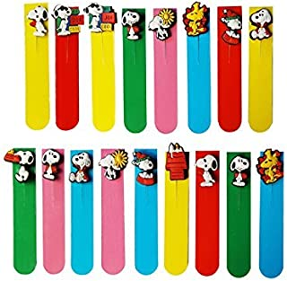 AVIRGO 17 pcs Magnetic Bookmarks Page Markers Colorful Set # 211-16