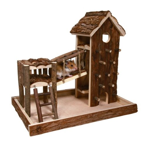 Trixie 61642 Natural Living Spielplatz Birger, 36 × 33 × 26 cm