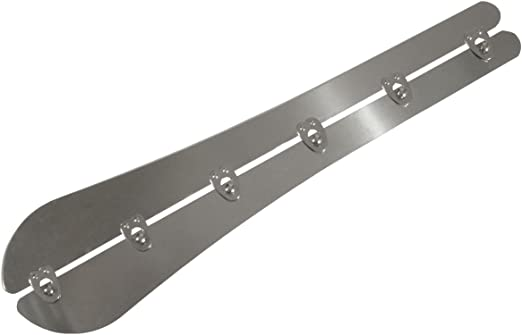 Eloja® Stabile Korsett Mieder Schließe 23 mm breit Corset Busk 30 cm Edelstahl