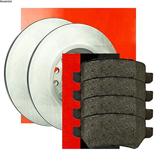 Metzger Bremsscheiben ø279mm + Bremsbeläge Set Hinten