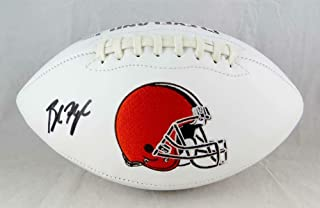 baker mayfield signed football
