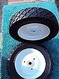 Craftsman OEM 7' Steel Wheels for Front Tine TILLERS Poul. AYP