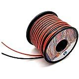 silicone fili elettrici 0.3mm² 22awg 2x30metri cavo elettrico filo di rame stagnato a più fili alta temperatura resistente