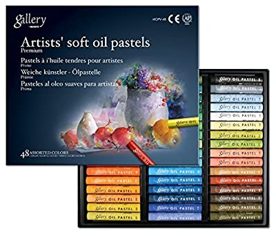 Soft Oil Pastels Set of 48 - Assorted Colors