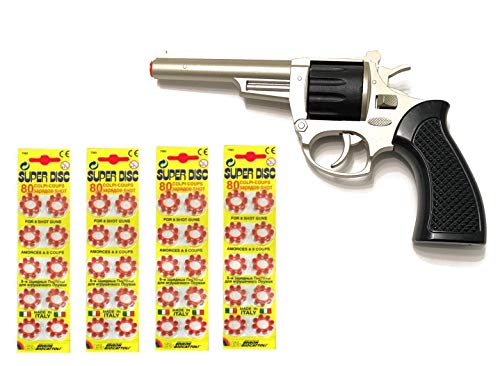 Outletdelocio. Revolver metalico del Oeste...