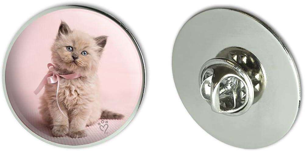 Miradoll Ragdoll NEW Cat Kitten Pink Ribbon Bow Tack Tie Metal Selling rankings 1.1