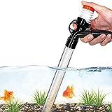 LIPETLI Automatische Mulmsauger Aquarium Reinigenwerkzeug, Wasserwechsler mit Schlauch,...