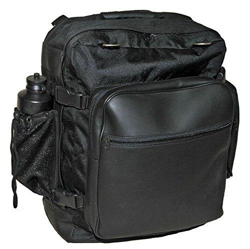 VANCE Motorcycle Sissy Bar Travel Bar Bag Back Pack W/Quick Release, Bottle Rain Cover