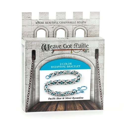 Weave Got Maille 2-Color Byzantine Chain Maille...