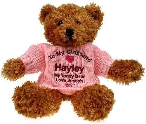 Personalised braun Teddy Bear  Girlfriend