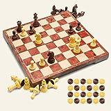 ajedrez y damas niños