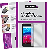 dipos I 2X Schutzfolie klar kompatibel mit Archos 50 Core 5,0 Zoll Folie Bildschirmschutzfolie