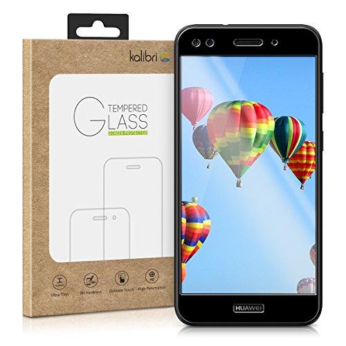 Huawei Y6 Pro (2017) / Enjoy 7 Folie - 3D Glas Handy Schutzfolie für Huawei Y6 Pro (2017) / Enjoy 7 - Auch für gewölbtes Display