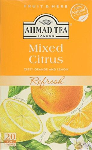 Ahmad Tea Mixed Citrus Fruit & Herbal Infusion - 20 Teabags