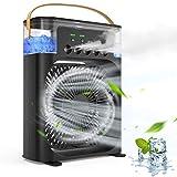 Portable Air Conditioner Fan,Mini Quiet USB Desk...
