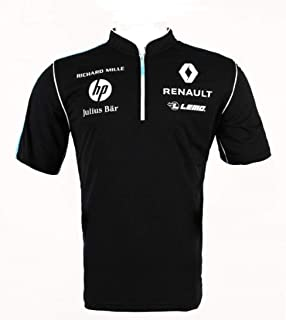 Formula E Sponsor Buemi Prost Mens Poloshirt