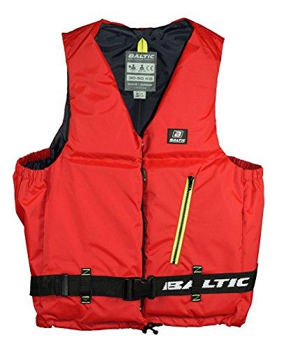 Baltic Axent Schwimmweste, Farbe:Rot, Größe:30-50kg
