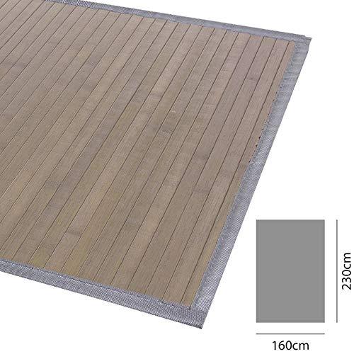 Home Gadgets Alfombra Salon o Habitacion Grande Bambu 160x230 cm