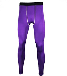 Guandoo Men's Compression Football Running Tights Stretch Sport Pants