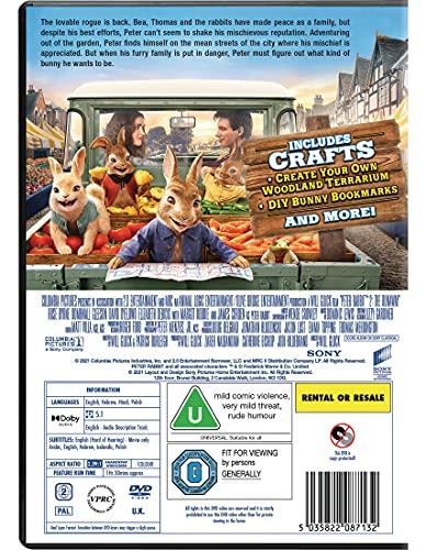 Peter Rabbit 2 [DVD] [2021]