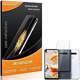 SWIDO Schutzfolie für LG K61 [2 Stück] Anti-Reflex MATT Entspiegelnd, Hoher Festigkeitgrad, Schutz vor Kratzer/Folie, Bildschirmschutz, Bildschirmschutzfolie, Panzerglas-Folie