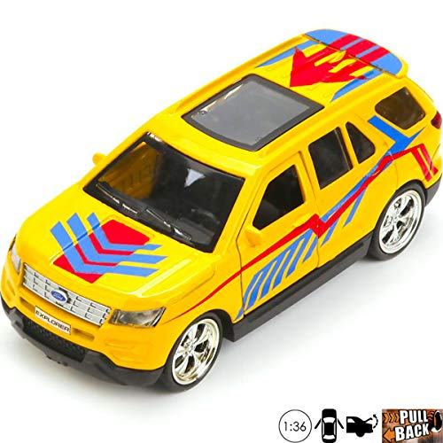 Ford Explorer Sport Car Toy - 1:36 Scale Diecast Metal Model - Russian Collectible Die Cast Toy Cars -  Russian Toys, 3843950