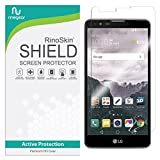 RinoGear Screen Protector for LG Stylo 2 / Stylo 2 V/Stylo 2 Plus/Stylus 2 (2016) Case Friendly LG Stylo 2 / Stylo 2 V/Stylo 2 Plus/Stylus 2 Screen Protector Accessory Full Coverage Clear Film