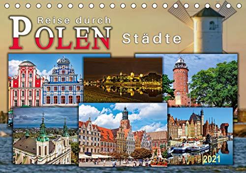 Reise durch Polen – Städte (Tischkalender 2021 DIN A5 quer)