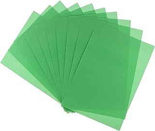 Perfeclan アートペーパー セット サンドペーパー 絵画用紙 DIY 絵画 画材 子供 全5色 - 草の緑