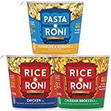 Quaker Rice a Roni Cups Individual Cup, 3-Flavor Variety Pack, 2.25 Oz (Pack of 12)